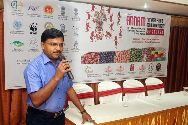Mr.Sivakumar, Head-Publication Divition, CISSA